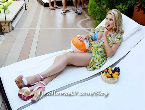 Holly Madison at TAO Beach