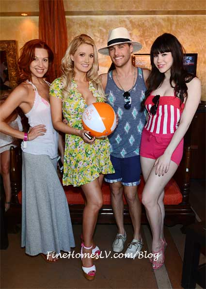 Tara Palsha, Holly Madison, Josh Strickland and Claire Sinclair