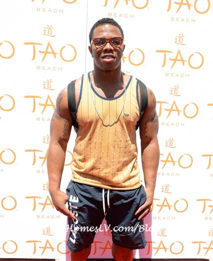 Ray Rice at TAO Beach