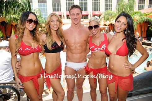 Ryan Lochte at TAO Beach