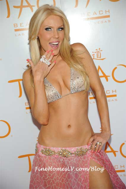 Gretchen Rossi at TAO Beach