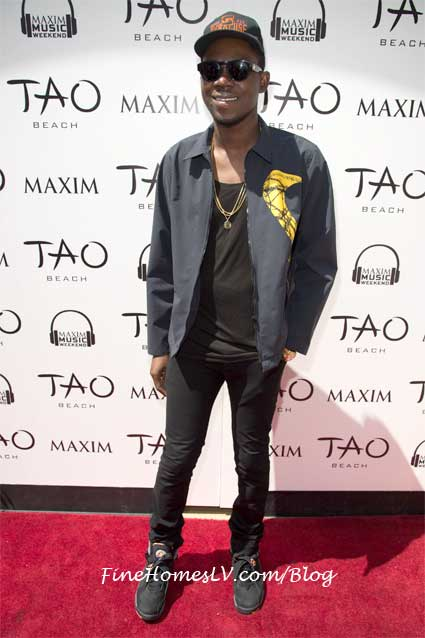 Theophilus London at TAO Beach