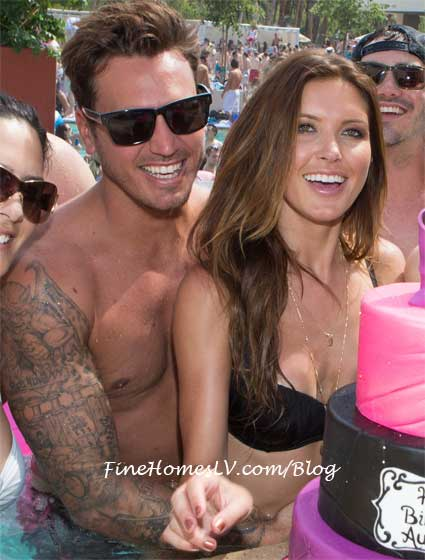 Audrina Patridge and Corey Bohan