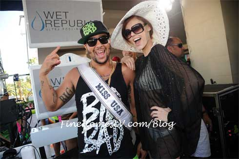 Sky Blu and Miss USA 2011