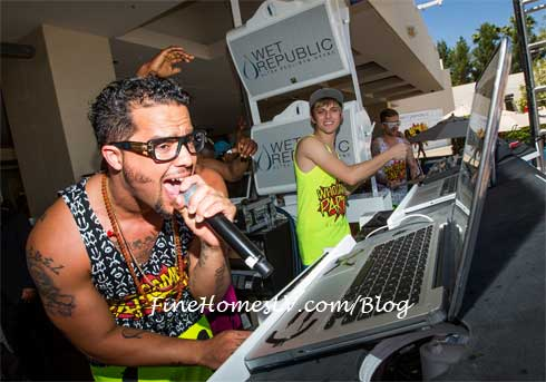 Sky Blu at WET REPUBLIC