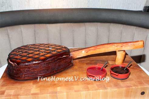 Tomahawk Steak Cake
