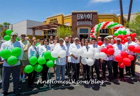 BRAVO Cucina Italiana Grand Opening With Employees