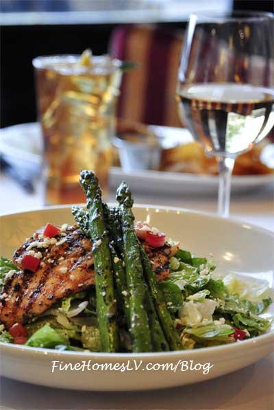 BRAVO Cucina Grilled Salmon Salad