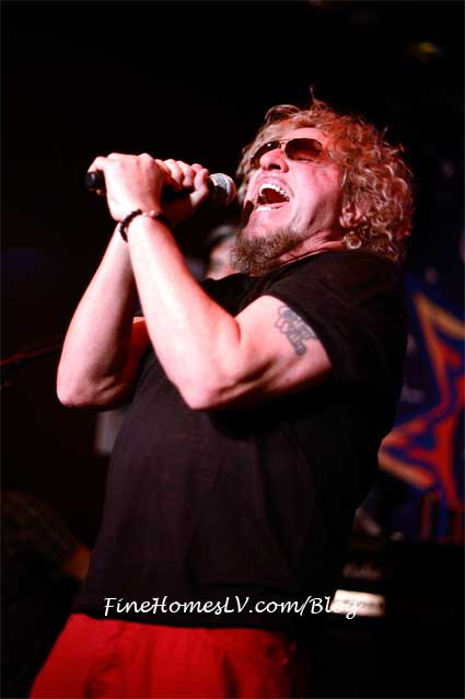 Sammy Hagar Celebrates 3rd Anniversary At Cabo Wabo Cantina With Show