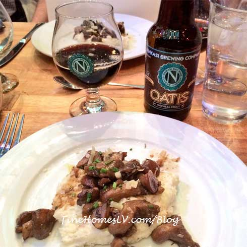 Ninkasi Brewing Beer With Grits and Mushrooms