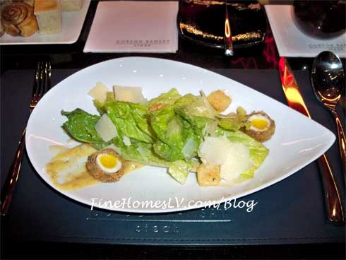 Caesar Salad at Gordon Ramsay Steak