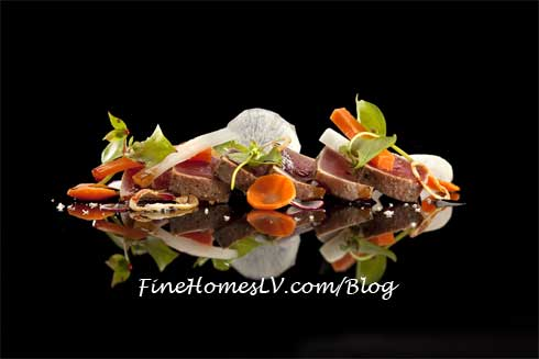 Gordon Ramsay Steak Yellow Fin Tuna