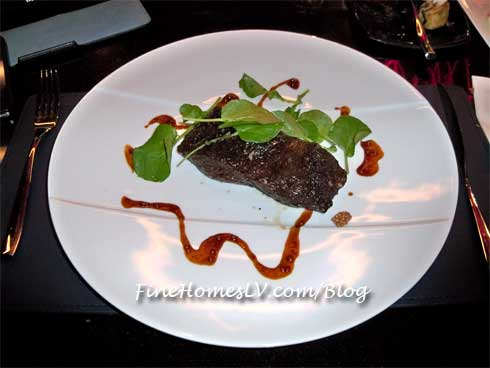 Kobe Wagyu Rib Cap Steak at Gordon Ramsay Steak