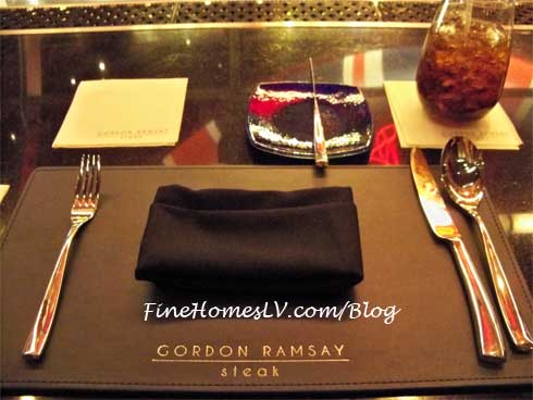 Gordon Ramsay Steak Table Setting