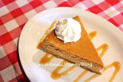 Pumpkin And Butterscotch Toffee Cheesecake