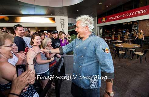 Guy Fieri Greets Las Vegas Fans