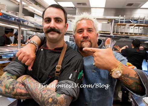 Tony Leitera and Guy Fieri