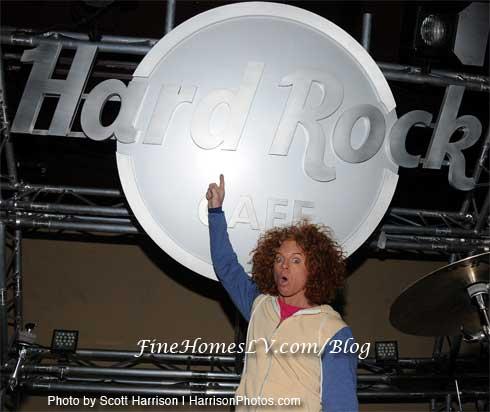 Carrot Top at Hard Rock Cafe
