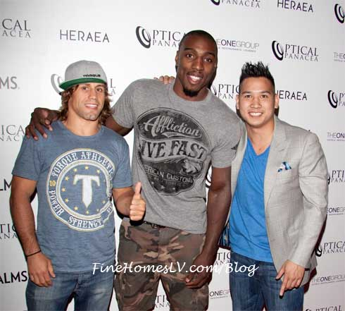 Urijah Faber, Phil Davis and Sam Hon