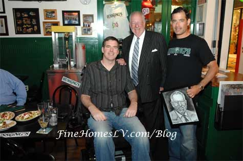 Scott Frost, Mayor Goodman and Jeff Marks