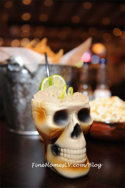 Hussong's Cantina Skull Cocktail