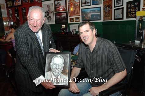 Mayor Goodman and Scott Frost