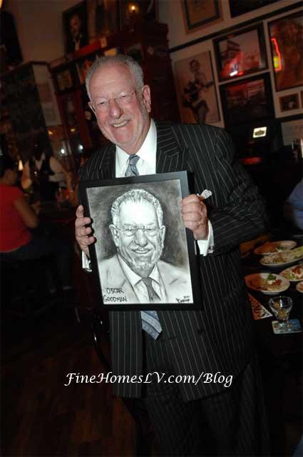 Mayor Oscar Goodman at Hussong's Cantina