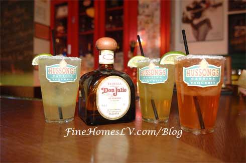 Skinny Margaritas at Hussong's Cantina
