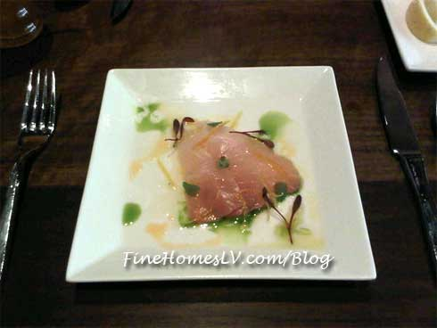 Hamachi Candied Lemon Zest