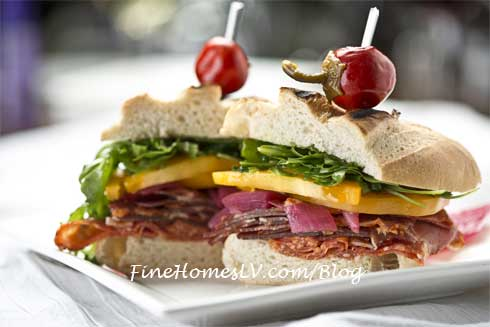 Italian Sandwich At La Cave Wine and Food Hideaway