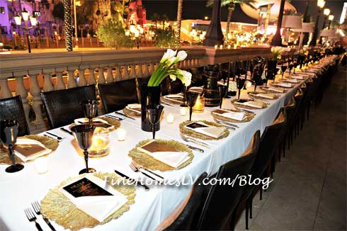 LAVO Las Vegas Table Setting