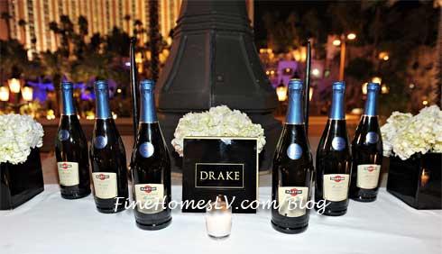 LAVO Las Vegas Martini Bottles
