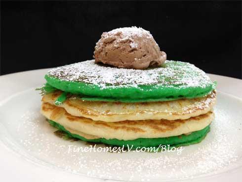 White Polenta Pancakes