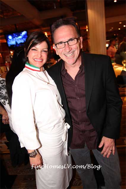 Carla Pellegrino and Rick Moonen