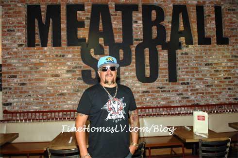 Guy Fieri at Meatball Spot