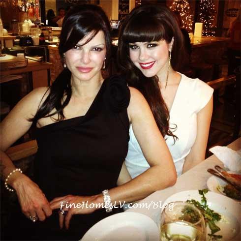 Chef Carla Pellegrino and Claire Sinclair