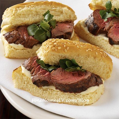 Petit Filet Mignon Sandwiches