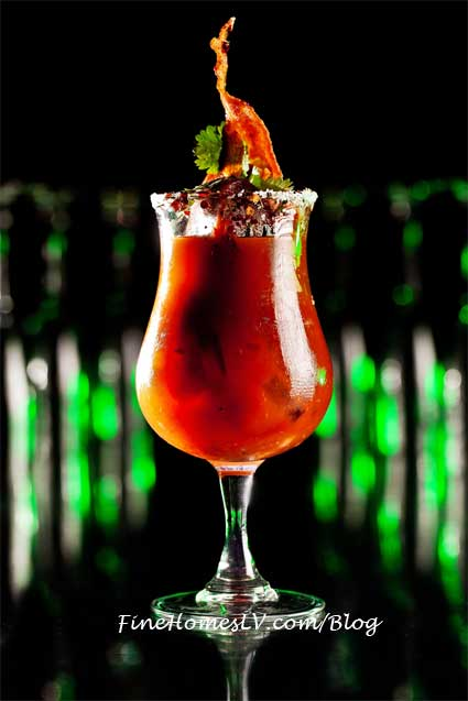 Bacon Bloody Mary Drink