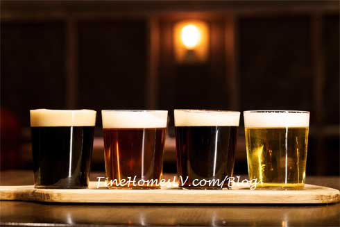Beer Flight at Public House Tavern