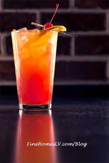 Sin City Sunrise Cocktail