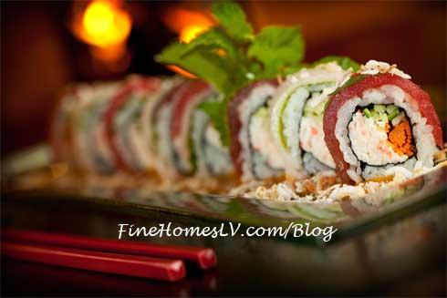 Santa's Roll Sushi
