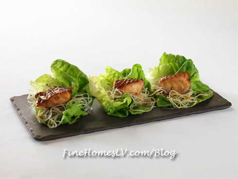 Misoyaki Butterfish Lettuce Wrap