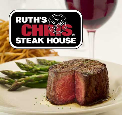Steak Restaurant on Ruth S Chris Steak House Sizzles Center Strip To Harrah S Las Vegas