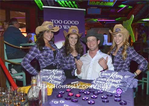 Tilden Hooper With Crown Royal Girls