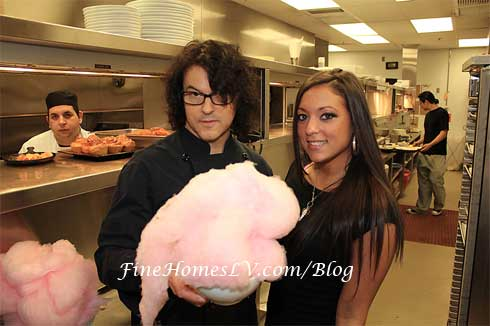 Chef Kerry Simon and Sammi Giancola
