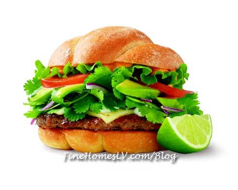 Smashburger Fresh Mex Burger