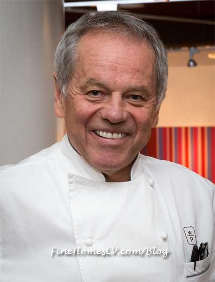 Wolfgang Puck At SPAGO Restaurant