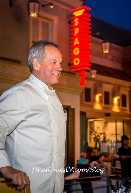 Wolfgang Puck At SPAGO Las Vegas