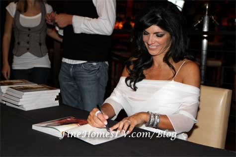 Teresa Giudice at Stack Restaurant