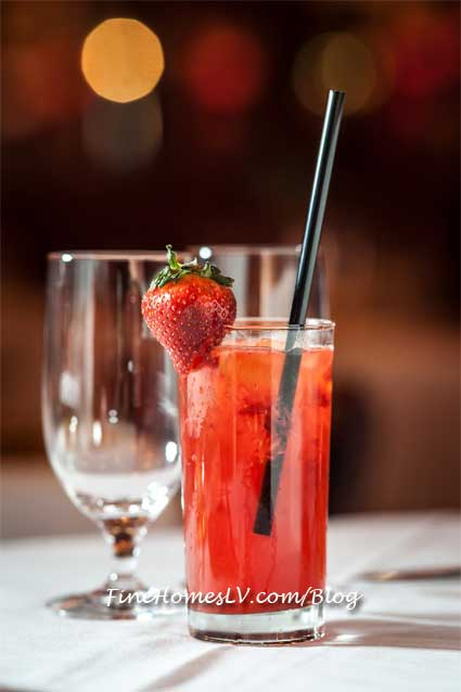 Naughty Strawberry Cocktail